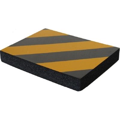 Προστατευτικό τοίχων γκαράζ Αυτοκόλλητο αφρώδες παχύ 3cm με κίτρινες και μάυρες ανακλαστικές λωρίδες