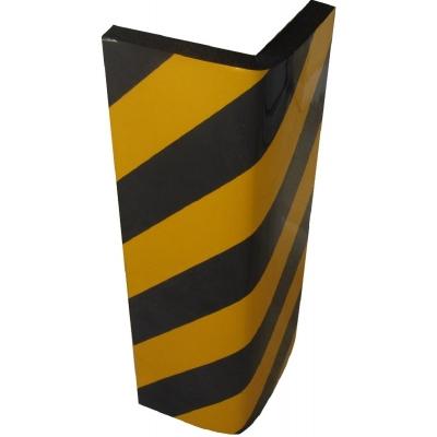 Αυτοκόλλητο αφρώδες προστατευτικό γωνιών και τοίχων γκαράζ με κίτρινες και μαύρες ανακλαστικές λωρίδες