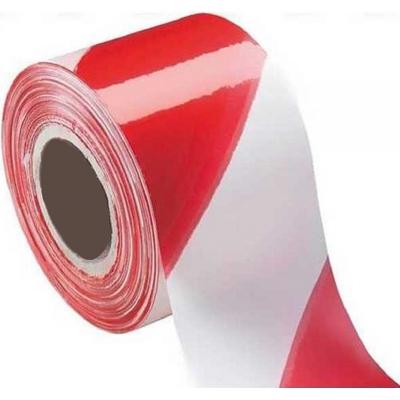 Ταινία σήμανσης με λευκό και κόκκινο χρώμα