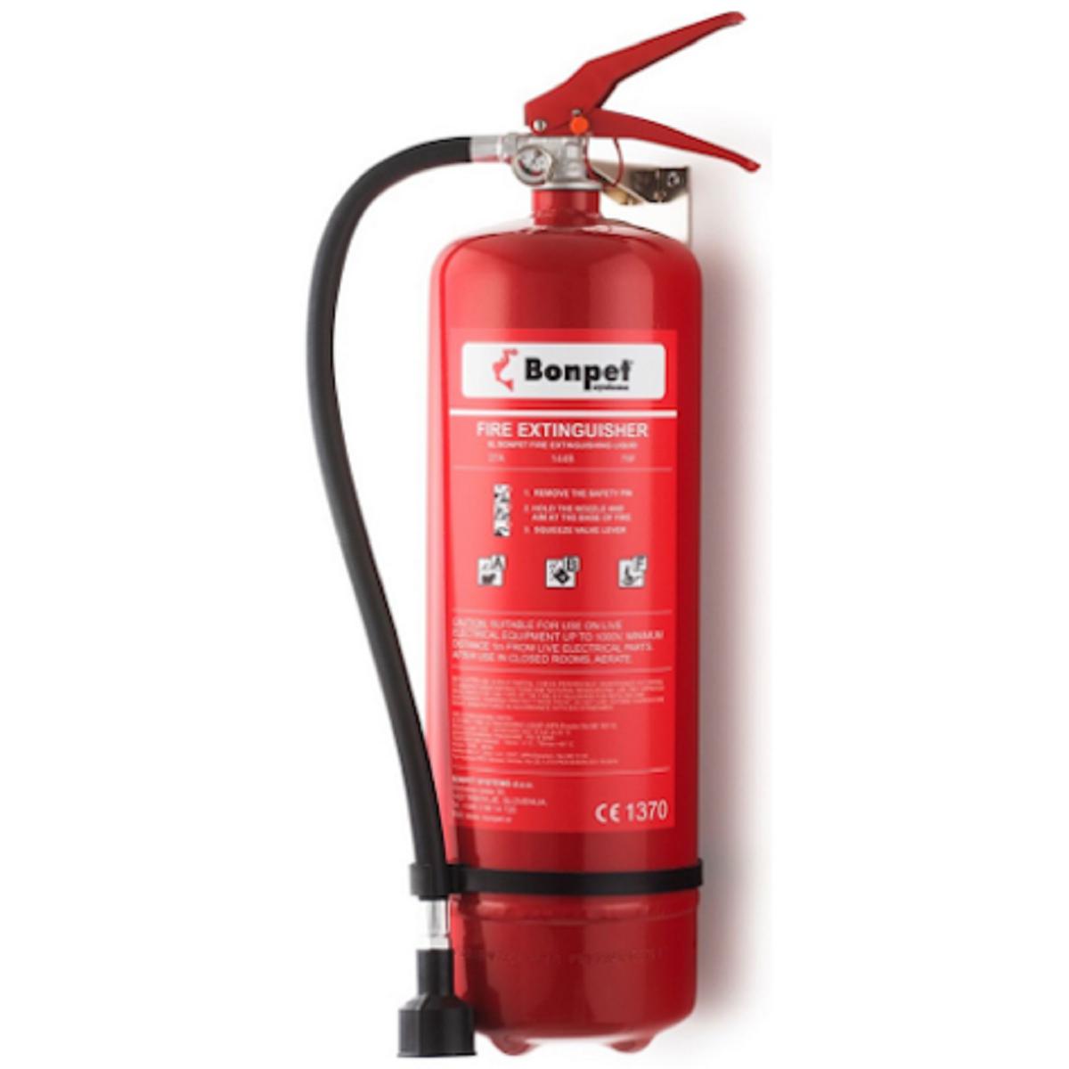 Πυροσβεστήρας 6lt Bonpet Φορητός