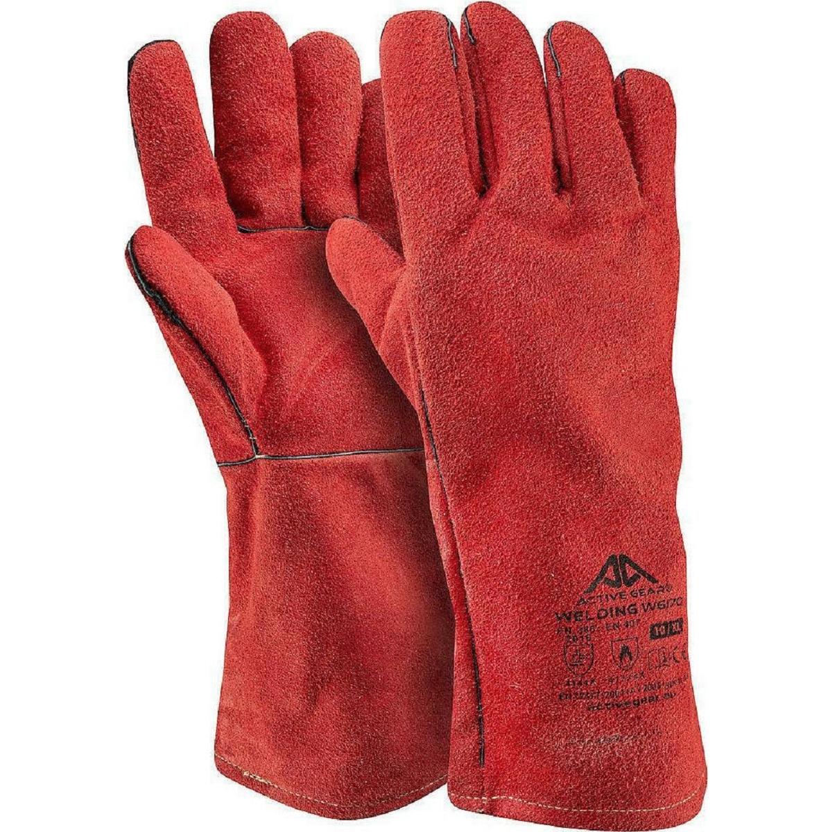 Γάντια Δερμάτινης θερμικής Προστασίας Active WELDING