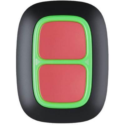 Ajax Double Button - Κουμπί Πανικού 2 πλήκτρων (μαύρο)