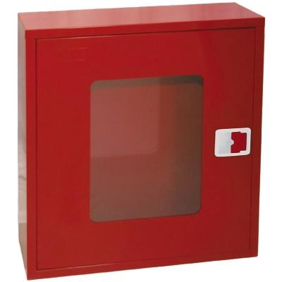 Πυροσβεστική Φωλιά, ΚΕΝΗ, με Ανέμη & Διάφανη Πόρτα 700x630x180 mm