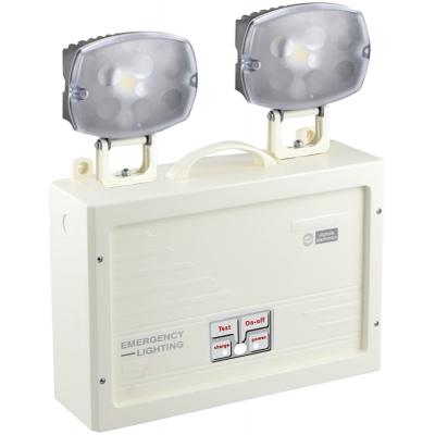 Φωτιστικό Ασφαλείας GRL-21/H/180  με δύο προβολείς 180min - 3200lm & Μπαταρία