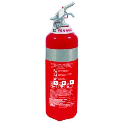 Πυροσβεστήρας 1Kg INOX Ξηράς Σκόνης ABC40