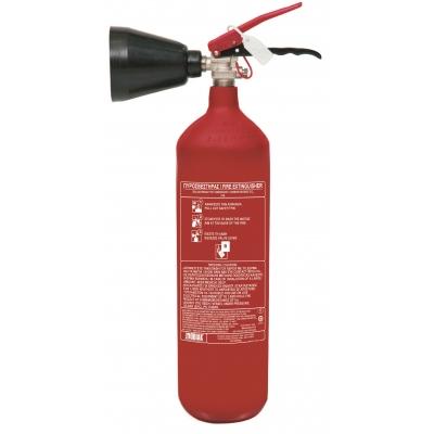 Πυροσβεστήρας 2kg CO2  με χοάνη μπροστά