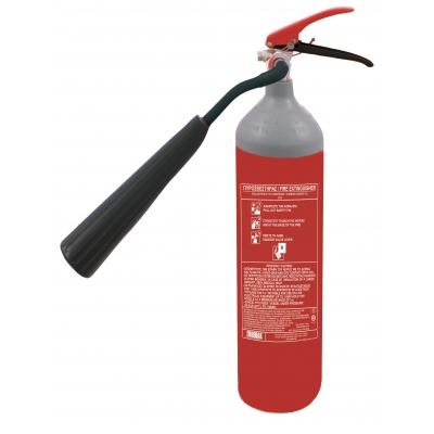 Πυροσβεστήρας 2kg CO2  με χοάνη στο πλάι