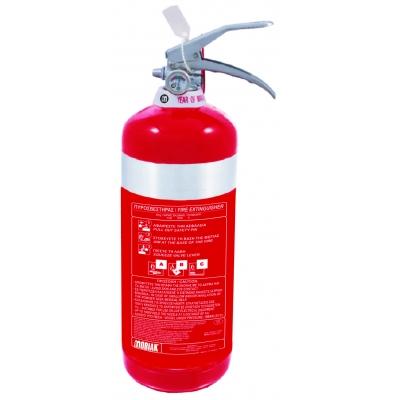 Πυροσβεστήρας 3kg INOX Ξηράς Σκόνης ABC40