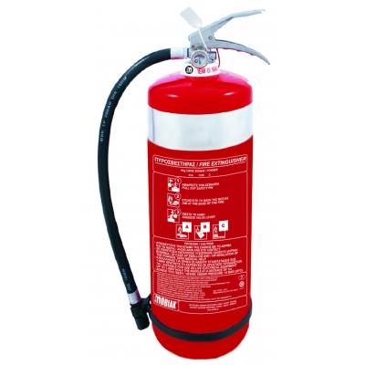 Πυροσβεστήρας 6kg INOX Ξηράς Σκόνης ABC40