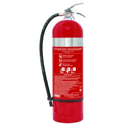 Πυροσβεστήρας 12kg INOX Ξηράς Σκόνης ABC40