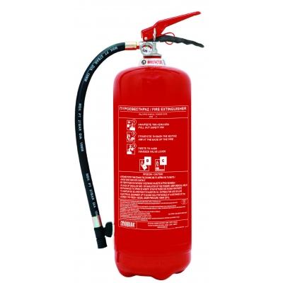 Πυροσβεστήρας 6kg Ξηράς Σκόνης BC90 90KV