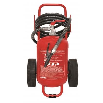 Τροχήλατος Πυροσβεστήρας 25Kg Ξηράς Σκόνης welded