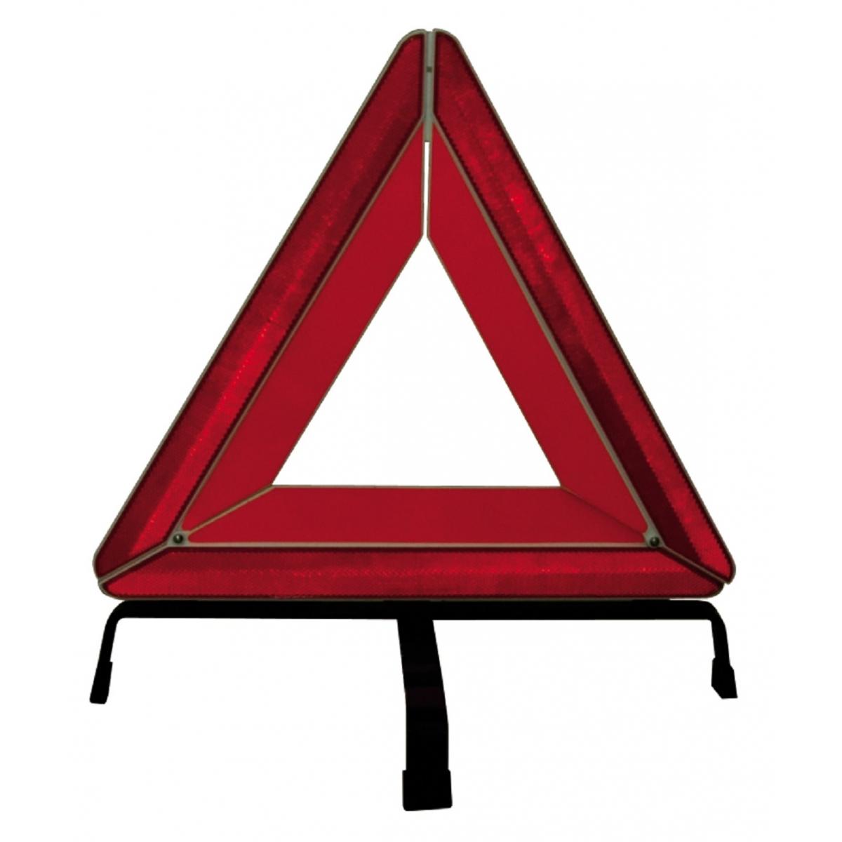 Αντανακλαστικό Τρίγωνο Αυτοκινήτου με Βάση Μεταλλική