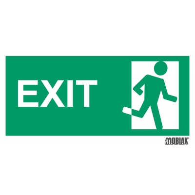 Πινακίδα ΕΞΟΔΟΣ (EXIT)