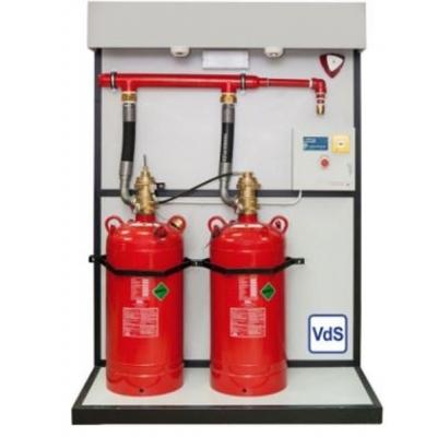 Σύστημα Κατάσβεσης HFC-227ea για εφαρμογές ξηράς