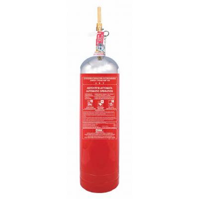 Πυροσβεστήρας 10Lt ABF Wet chemical Τοπικής Εφαρμογής inox