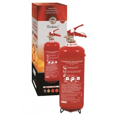 Πυροσβεστήρας 3kg Ξηράς Σκόνης ABC40