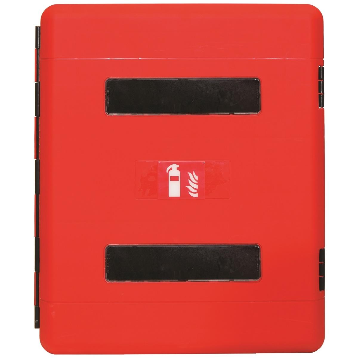 Θήκη Πυροσβεστήρα 6kg-12kg Πλαστική Διπλή