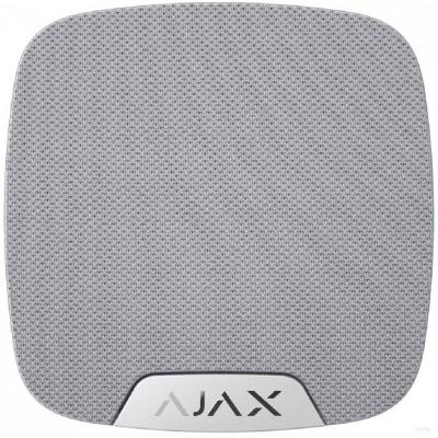Ajax HomeSiren - Ασύρματη εσωτερική σειρήνα IP50 (Λευκό)